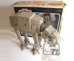 1980s vintage star wars walker toy