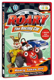 roary racing car roary takes dvd zoom uk