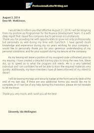 professional resignation letters formal resignation letter 40
