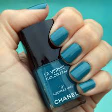 chanel mediterranee nail polish for summer 2015 review bay area