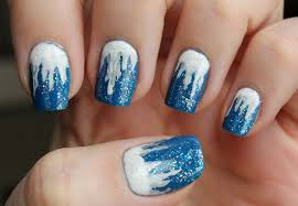 outstanding collection of winter nail arts