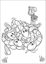 toy story 3 coloring pages worms toy story 3 coloring pages