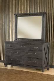Low Profile Furniture by Modus Furniture International Yosemite Low Profile Fabric Bed