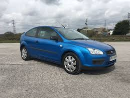 2005 ford focus mk2 1 6 lx petrol manual 3 door 12 months mot