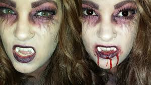 vampire makeup tutorial good u0026 evil youtube
