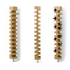 kitchen interior wine bottle furniture cool wall mount wooden wine