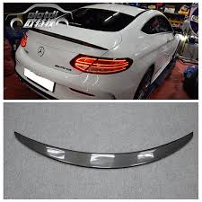 are mercedes c class reliable aliexpress com buy w205 2door p style carbon fiber rear trunk