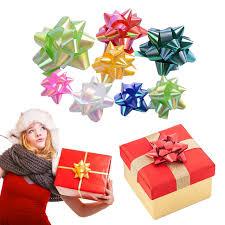 gift wrap bows taos 86pcs 2 sizes self adhesive christmas gift wrap bows