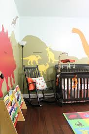 diy dinosaur themed nursery hometalk