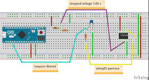 Arduino Map Programming Attiny85 And Arduino Analogread Pwmout Arduino