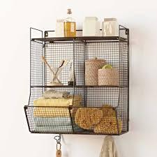 Hanging Baskets For Bathroom Storage Hanging Basket Shelves Autour