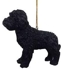joseph warren miller 33181a labradoodle ornament black