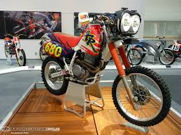 history of motocross racing honda collection hall tour photos motorcycle usa