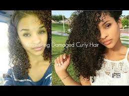 getting hair curled and color how to recover curly hair from heat color damage my hair journey