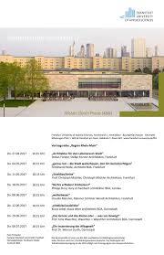 fh frankfurt architektur dury et hambsch 05 i 2017 vortrag fh frankfurt