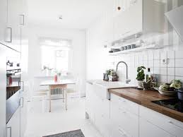 Scandinavian Kitchen Design Small Scandinavian Kitchen Design Ideas With White Cabinetry