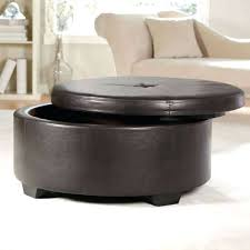 round leather coffee table round leather coffee table ottoman white leather tufted ottoman