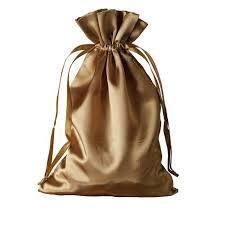 gold favor bags 6x9 satin drawstring bags antique gold 12 pack efavormart