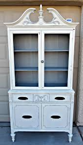 55 best chalk paint images on pinterest annie sloan chalk paint white antique hutch by abitowhimsy on etsy 350 00