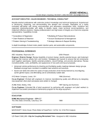 Quality Engineer Sample Resume Sales Engineer Resume Resume Cv Cover Letter