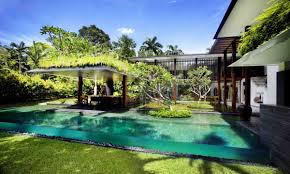 Modern Back Yard Adorable Modern Backyard House Design Ideas By Enchanting Pergola