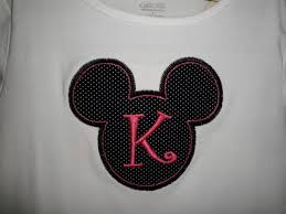 my favorite mouse initial shirt personalized