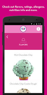 baskin robbins android apps on google play