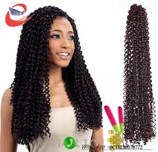 latch hook hair weave pre looped freetress hair synthetic crochet braids water wave