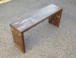 Designer Wooden Benches Outdoor by Accessories U0026 Furniture Reclaimed Build A Wooden Bench Furniture