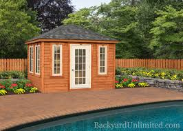 Backyard Pool House Landscape Structures Pool House Cabanas Backyard Unlimited