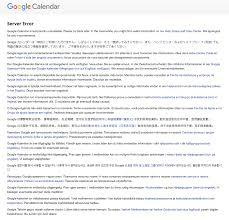 Hairdresser Resume Sample by Google Calendar Went Down Business Insider