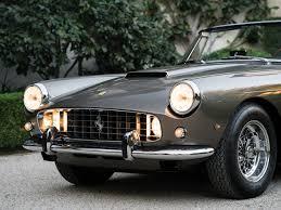 rally ferrari rm sotheby u0027s 1961 ferrari 250 gt cabriolet series ii by