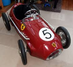 retro ferrari retro ferrari f2 grand prix race pedal car in cottenham