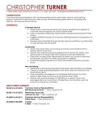 Retail Customer Service Resume Examples by Verizon Wireless Customer Service Representative Resume