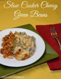 crockpot green bean casserole recipe this will save room in the