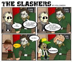 halloween the slashers comic page 2