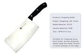 couteau de cuisine chinois chinois chopper épais lame cuisine à découper couteau avec poignée