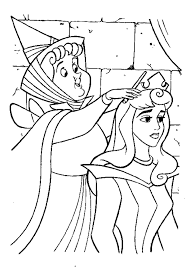 sleeping beauty coloring pages picture aurora printable coloring