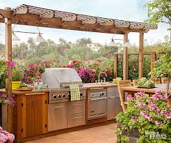 outdoor kitchen furniture outdoor kitchens you to see to believe