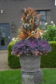 808 best halloween fall planters images on pinterest fall