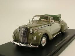 opel admiral 1938 opel admiral hebmüller cabrio 1938 oliv beige modellauto 1 43