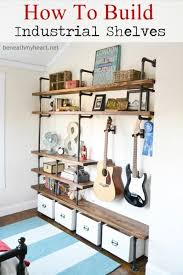 Industrial Bookcase Diy 40 Brilliant Diy Shelves That Will Beautify Your Home Page 2 Of