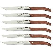 laguiole kitchen knives amazon com flyingcolors laguiole steak knife set stainless steel