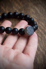 onyx beads bracelet images Black onyx bracelet wrist mala beads for men minimalist jewelry jpg