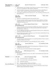 Sample Er Nurse Resume by Nurse Resume And Life Info