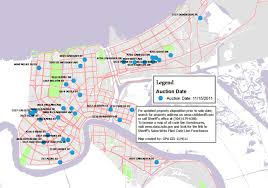 New Orleans Zoning Map by Nov 15 Property Auction Faubourg St Johnfaubourg St John