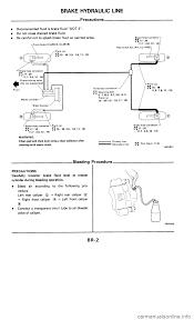 nissan 300zx 1985 z31 brake system workshop manual