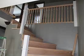What Is Banister Remodelaholic Curved Staircase Remodel With New Handrail