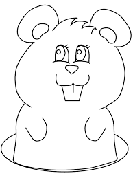 Groundhog Day Coloring Pages Kids 446298 Groundhog Color Page
