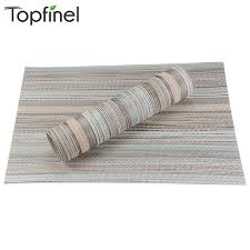 table runner placemat set top finel set of 8 pvc decorative washable placemats for dining